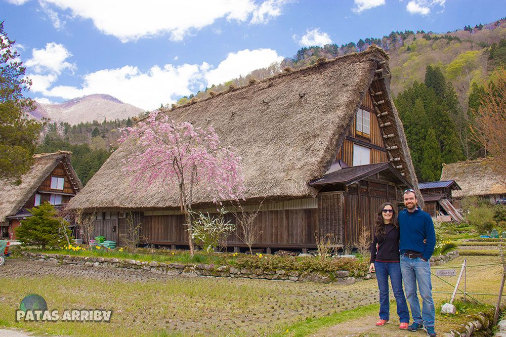 Casas tradicionales Shirikawago Japón