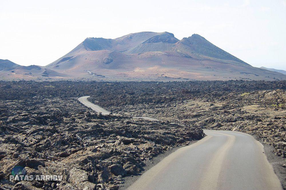 Carretera Campo de Lava Lanzarote