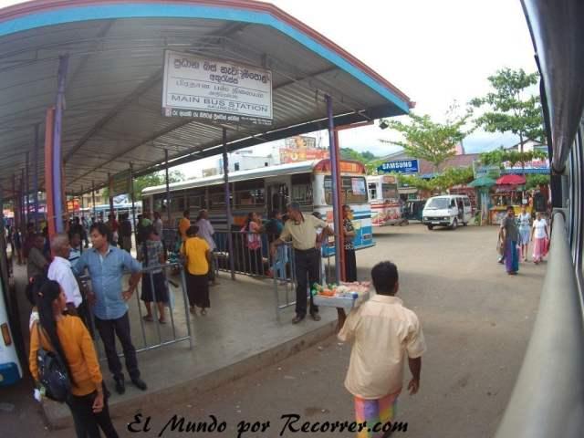 Estación de autobuses de Akurassa