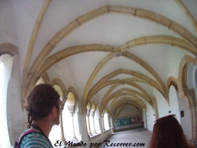 Bóveda en el convento de las Carmelitas