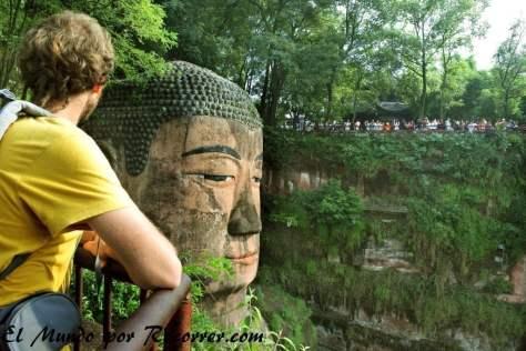 La cabeza del gran Buda