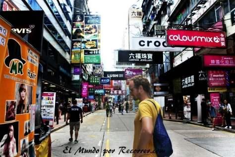 Las calles de Hongkong