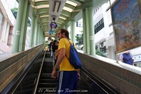 En las escaleras más largas del mundo