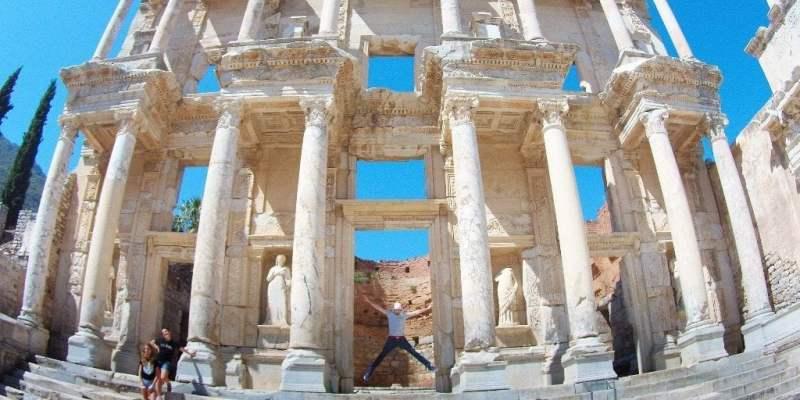 Las ruinas de la antigua Ciudad de Efes