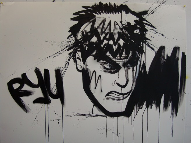 Artwork: Dave White's Ryu