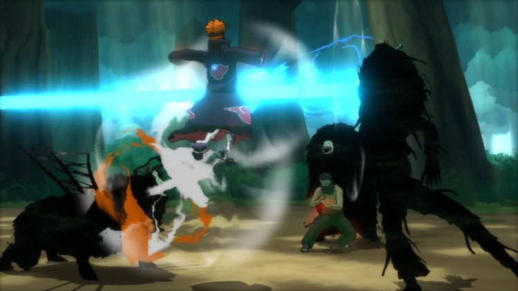 """Naruto Shippuden: Ultimate Ninja Storm Revolution"" - Akatsuki Common in Battle - Screenshot 1"
