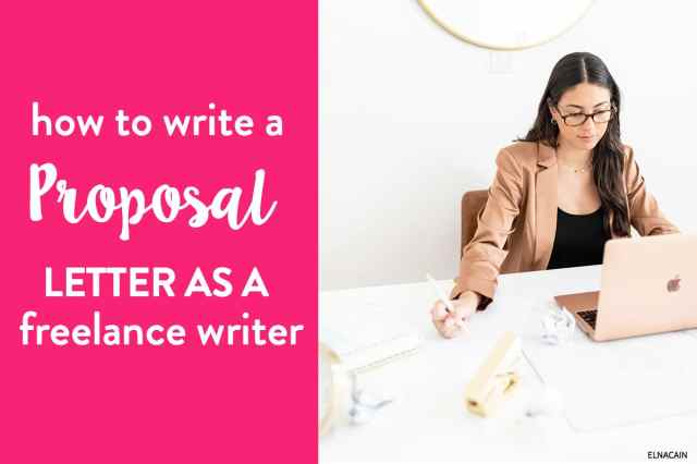 How to Write a Proposal Letter for a Job (With Template + Examples