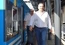 """Miguel Saredi""""Todos los pasos a nivel del Belgrano Sur ya tienen barreras"""""""