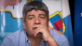 Pablo Moyano internado en la Clínica de Camioneros en San Justo