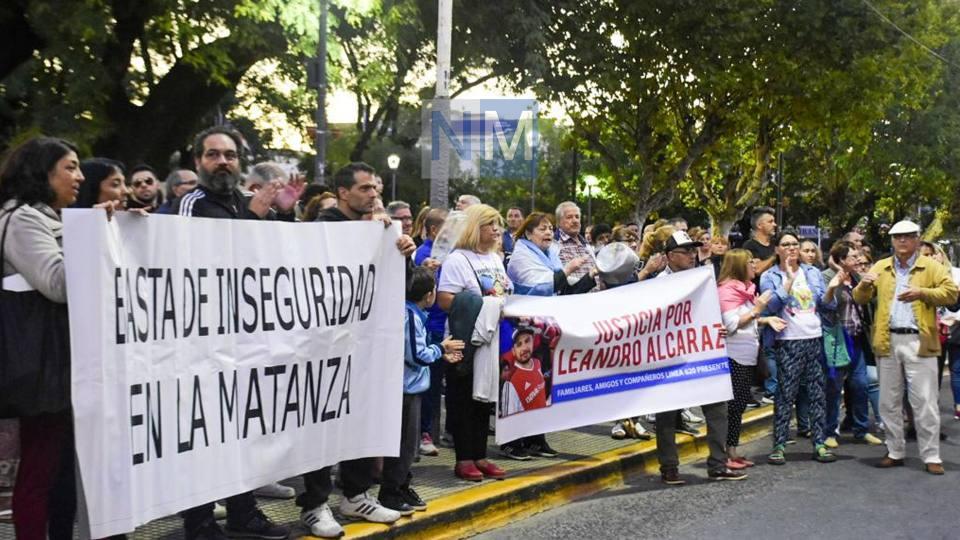 En San Justo, vecinos marcharon en pedido de seguridad y justicia