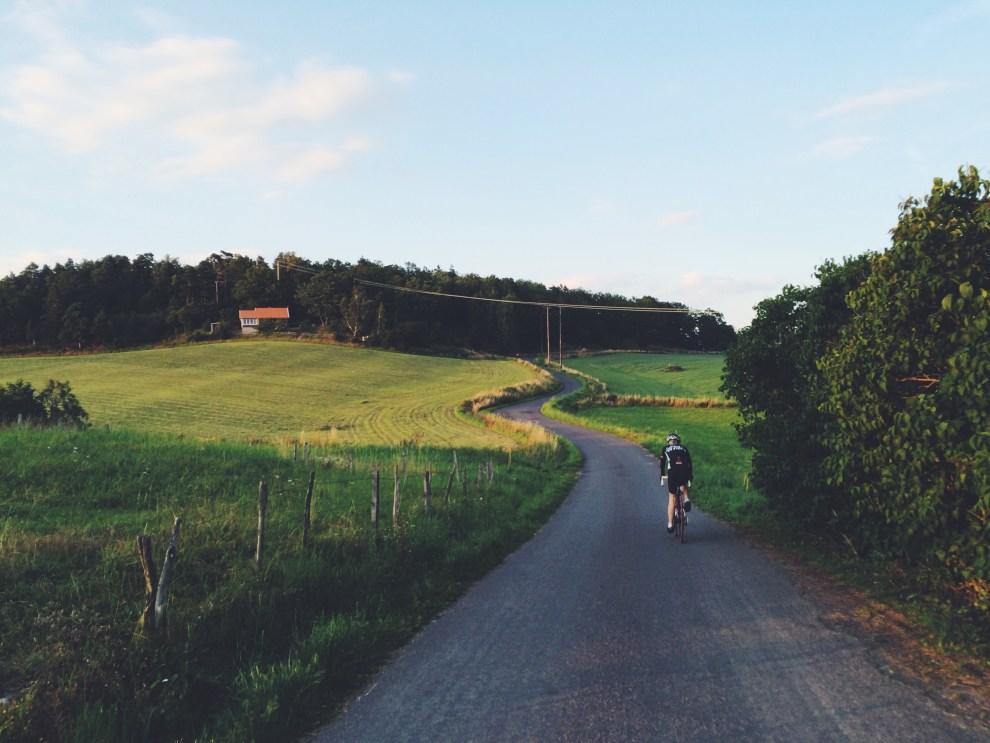 Mamma cyklar genom Jkpg toscana
