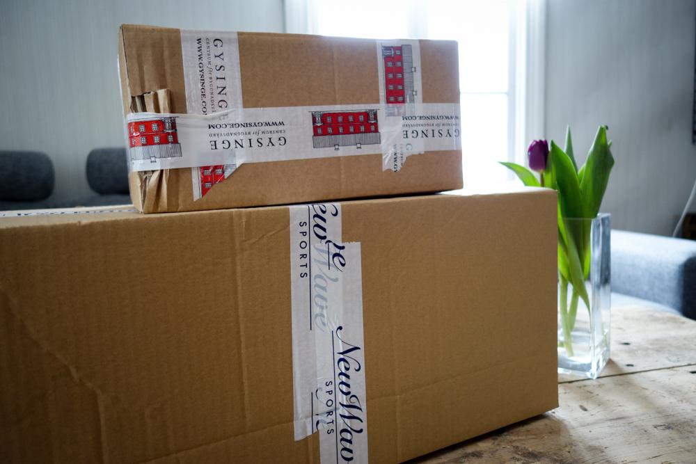 Paket från Craft Sportswear och Gysinge byggnadsvård