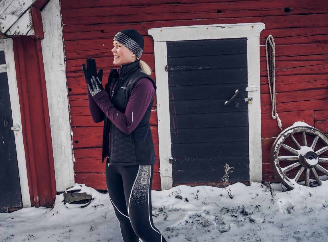 Löping på vintern