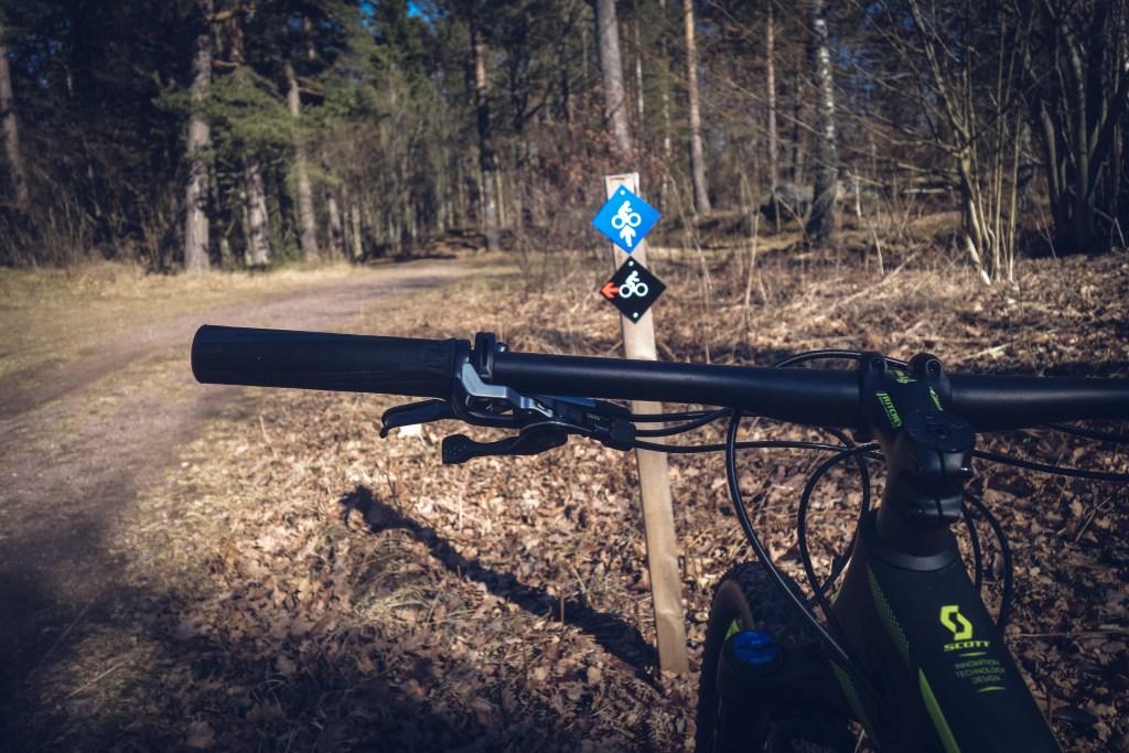 Cykla MTB Gränna