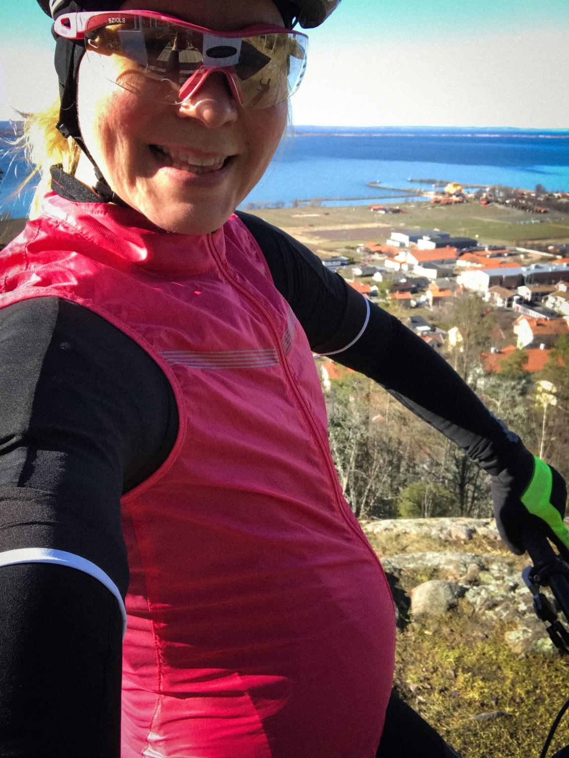 Cykla när man är gravid
