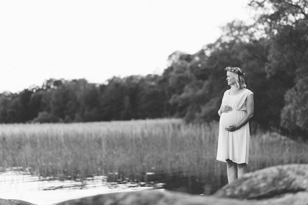 Gravid vecka 31 Foto Desiré Östergren