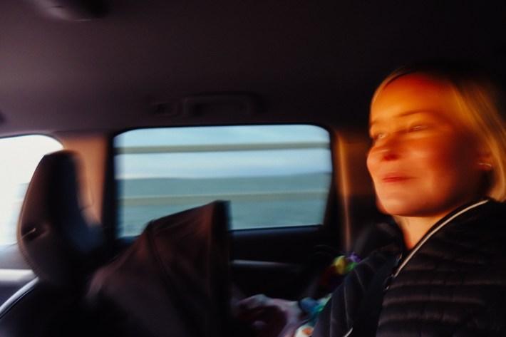 Första resan till Öland