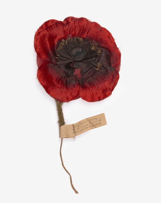 The poppy is the enduring symbol of remembrance of the First World War. It is strongly linked with Armistice Day, 11th of November. (Photo: War Museum)