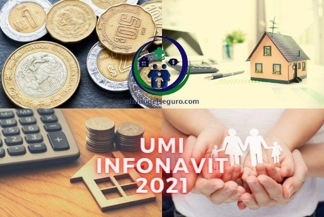 UMI INFONAVIT 2021 FACTOR DESCUENTO INFONAVIT