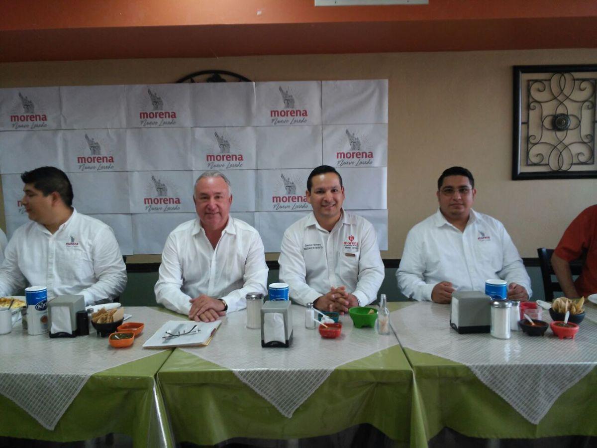 Anuncian visita de AMLO a Nuevo Laredo