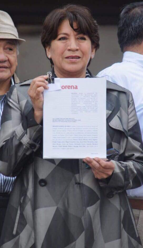 Delfina Gómez denuncia a Calderón, Anaya y Ochoa por violencia de género