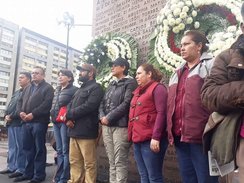 Delfina Gómez llama a los jóvenes a defender la libertad