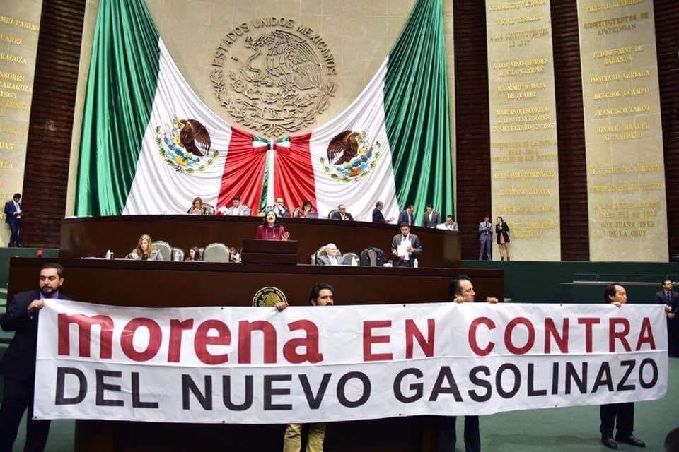 Con excepción de Morena, diputados imponen nuevo gasolinazo para 2018