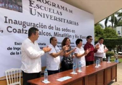 Morena presenta 4 universidades en Veracruz