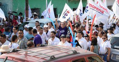 Pide Cuauhtémoc Blanco voto parejo para los candidatos de PT-MORENA-PES