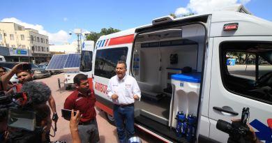 Ramón Garza Barrios presenta plan de seguridad con tecnología avanzada