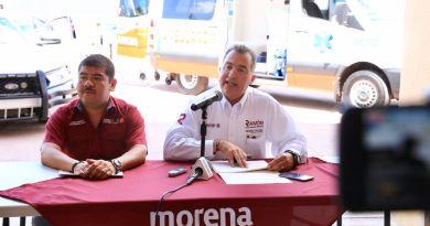 Creará Ramón Garza Barrios un centro  de monitoreo de control vial y seguridad