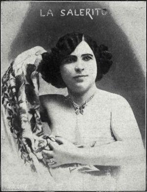 La Salerito, en 1912