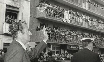 Las visitas del Rey Juan Carlos a Caravaca de la Cruz