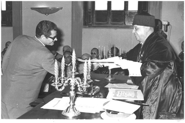 Un calasparreño en la Academia Alfonso X El Sabio