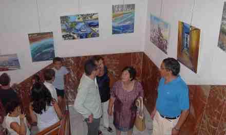 El Jardinico expone sus trabajos en la Casa de la Cultura de Cehegín
