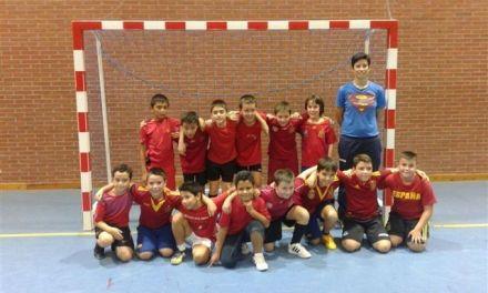 Bullas y Caravaca se enfrentan en la categoría Benjamín de Fútbol Sala