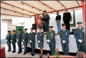 Guardia Civil en Calasparra