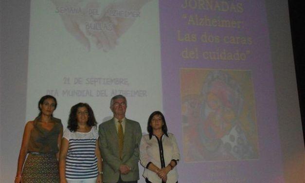 Clausuradas las Primeras Jornadas de Alzheimer 2014 en Bullas