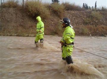 La riada en Murcia
