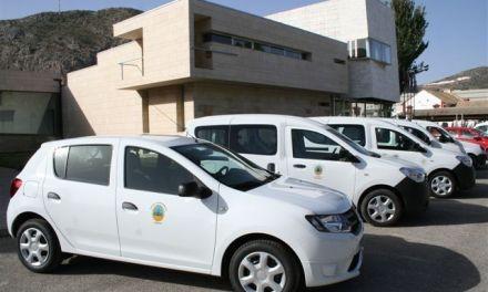 El Ayuntamiento de Cehegín renueva cinco vehículos de su flota para ahorrar en gastos y optimizar recursos