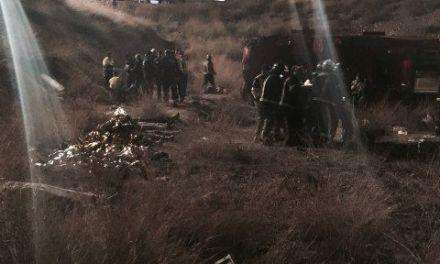 12 fallecidos de Bullas en un accidente de autobús en la Venta del Olivo