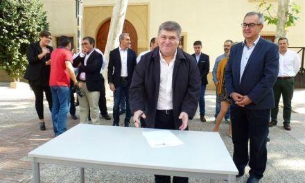 José Vélez firma el Código Ético socialista por la transparencia y contra la corrupción