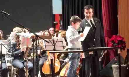 La Banda de Música de Moratalla entrega sus premios en el transcurso del Concierto de Navidad