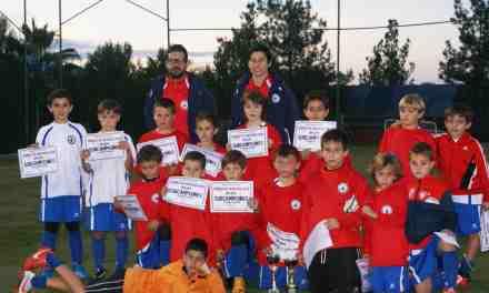La Selección comarcal se exhibe en los torneos de Navidad