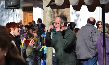 El autor Pedro Molina estuvo en Caravaca de la mano de Libros Diógenes