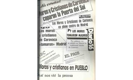 Cuando los moros y cristianos de Caravaca tomaron Madrid