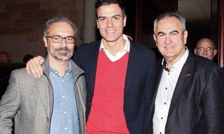 """Pedro Sánchez: """"Pepe, volveré a Caravaca cuando seas Alcalde"""""""