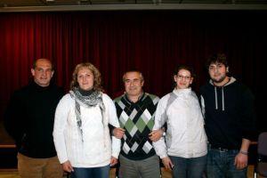 Los cinco candidatos de IU-Verdes