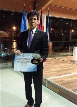 El maestro Sung Ho Sin Han, medalla de bronce al mérito deportivo