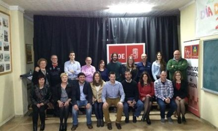 Los socialistas de Cehegín presentan su lista a las municipales de mayo